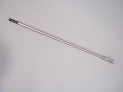 RVS wandelstok met RVS cane insteek.