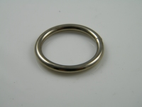 Ring, 3.5 x 25 mm, vernikkeld