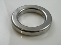 Rechthoekige ring, verchroomd binnendiameter 38mm