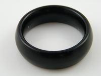 Lightweight cockring, donut 18 mm, black