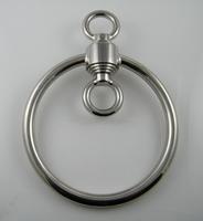 Rotator with very big Shibaru ring for rope bondage (Heavy)