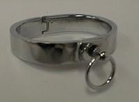 Handfessel aus polierten Edelstahl, 16 mm breit