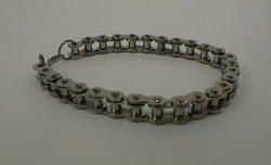 Bracelet of stainless steel, big chain
