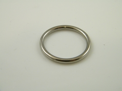 Eikelring 3,2mm, ring diameter 24, 26, 28 of 30mm