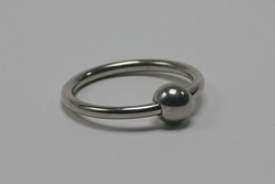 Glansring with 10 mm ball.