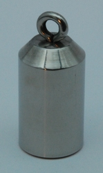 Weight with slant head 160 gr, Stainless steel
