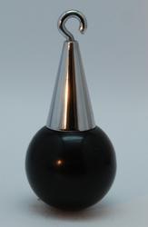 Ballweights with black ball 100 gr (4 cm diameter)