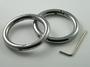 Oval bracelet/handcuff